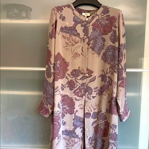 Wilfred Bossut Silk Dress, M